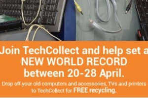 HELP SET NEW WORLD RECORD FOR E-WASTE COLLECTION