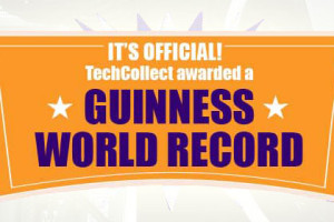 AUSSIES HELP SET NEW GUINNESS WORLD RECORD FOR E-WASTE COLLECTION