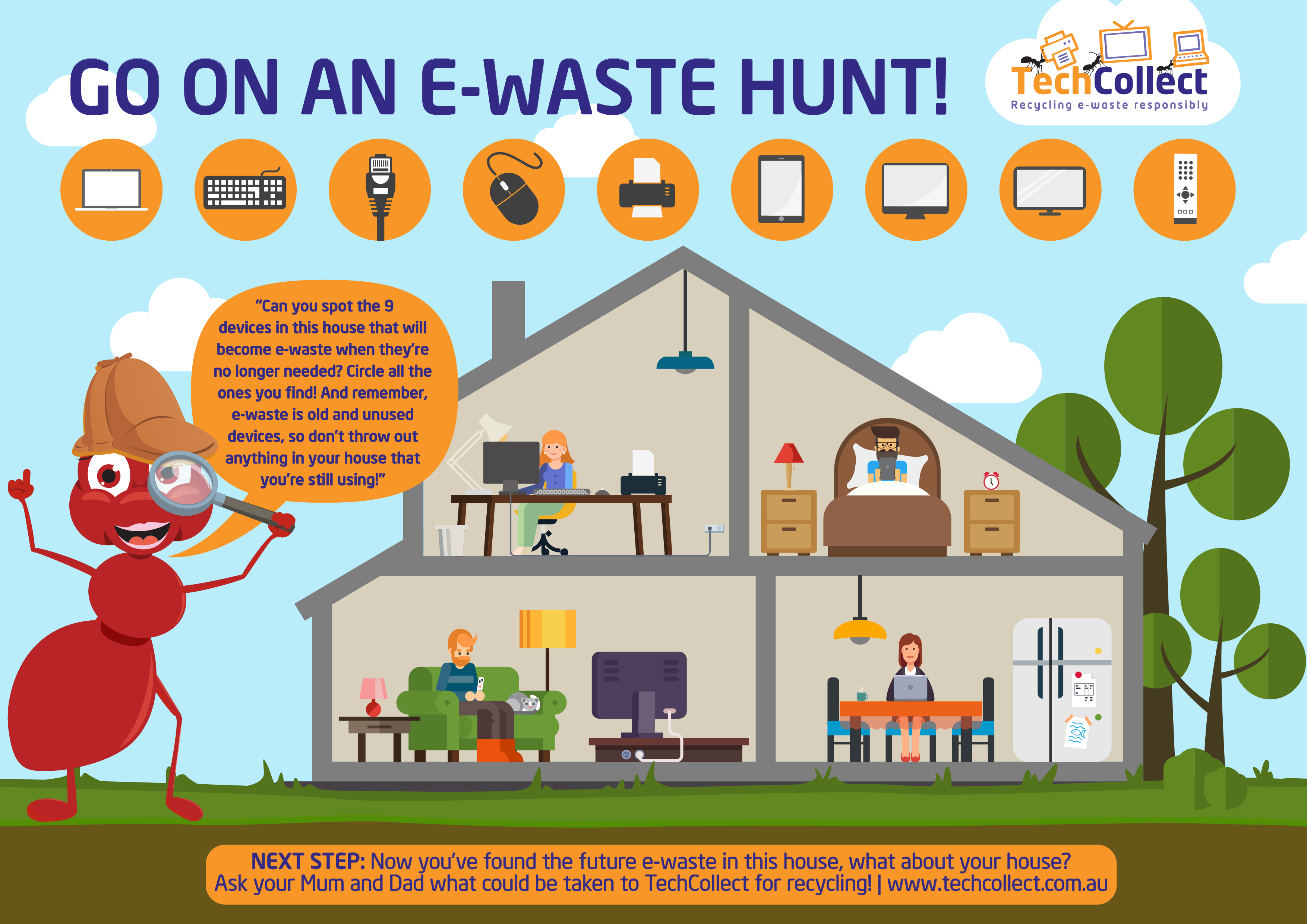e-waste recycling resources for kids | techcollect