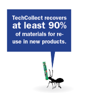 ants with quotes-circuitboard