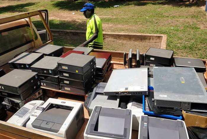 Here is an image of e-waste collection in progress from a number of East Arnhem's very remote island communities. The TechCollect site at East Arnhem Land Council services nine remote communities in the Top End - Galiwinku (Nhulunbuy), Angurugu, Umbakumba, Yirrkala, Marngarr – Gunyangara, Gapuwiyak, Milingimbi (Maningrida), Milyakburra, and Ramingining Communities. We have recently processed 900kg of e-waste collected from these communities, which was predominately IT equipment, and could have otherwise ended up in landfill.