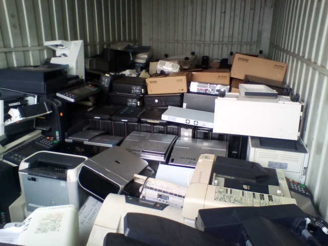 The image below is a recent container-load of e-waste collected on Thursday Island, north of the mainland of Cape York Peninsula. The e-waste travels on a barge to the mainland, and is then transported by road to Cairns to be responsibly recycled.